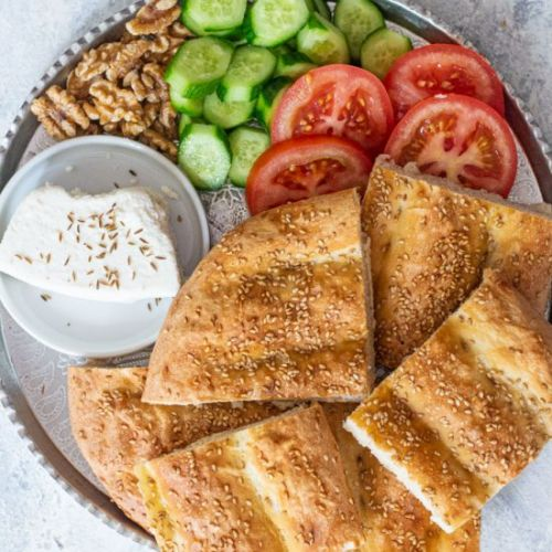 Easy Persian Barbari Bread