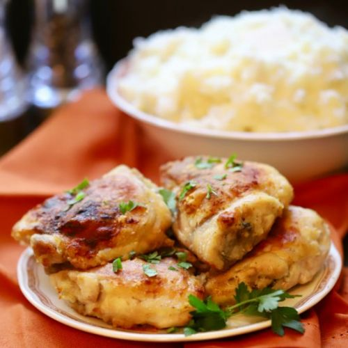 Southern Crispy Oven-Fried Chicken