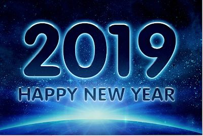 Happy New Year: Welcome 2019!