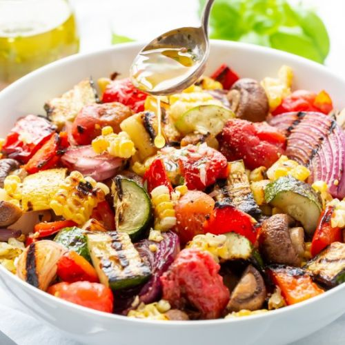 Chopped Grilled Vegetables