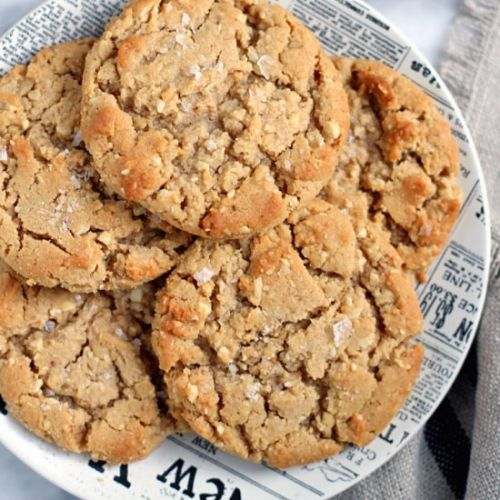 Honey-Roasted Peanut Butter Cookies