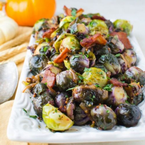 Stovetop Brussels Sprouts