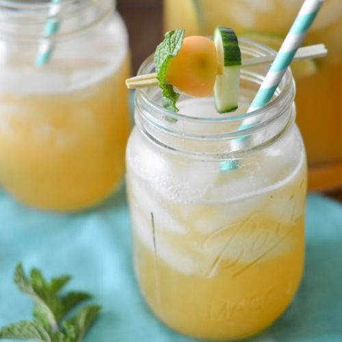 Cucumber Melon Party Punch