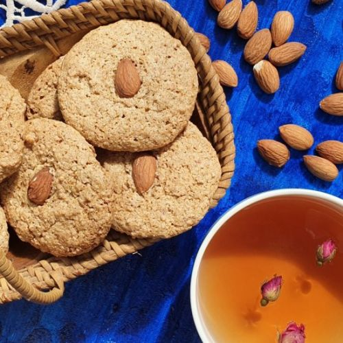 Roasted Almond cookies