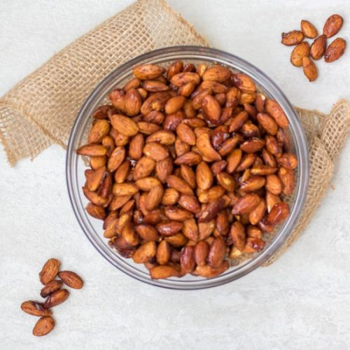 Slow Cooker Candied Almonds