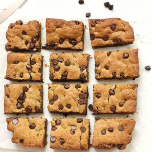 Chocolate Chip Peanut Butter Blondie