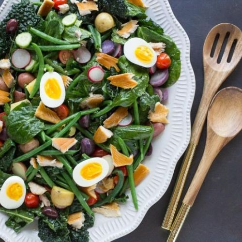 Smoked Trout Nicoise Salad