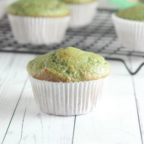 Matcha Green Tea Muffins