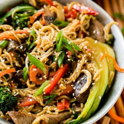 QUICK/EASY 15 MINUTE BEEF STIR FRY
