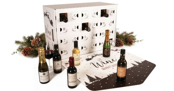 This Boozy Advent Calendar Was Designed For The Wine Lover In Your Life