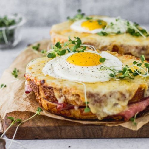 Vegetarian Croque Madame
