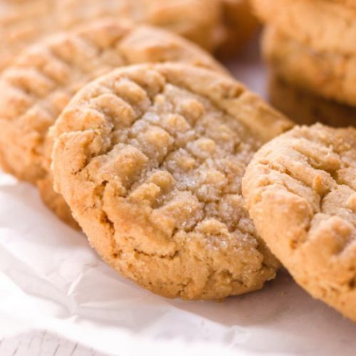 The Best Soft Peanut Butter Cookie