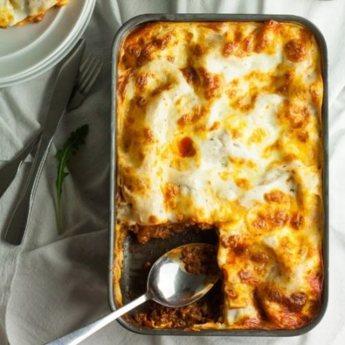 Easy Lasagne with White Sauce