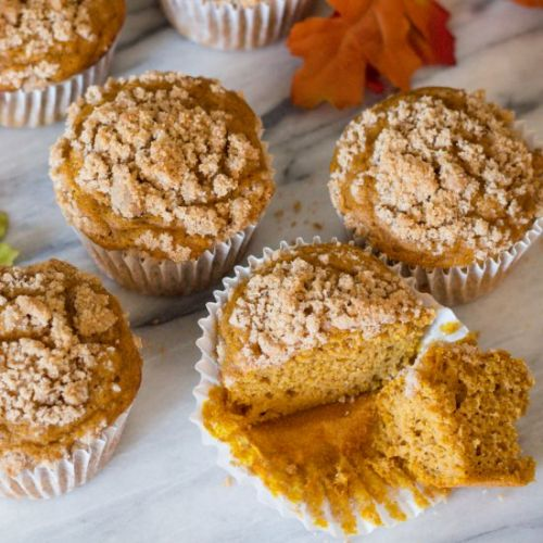Pumpkin Spice Muffin Crumble