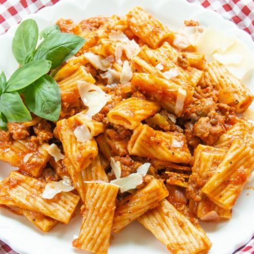 Rigatoni and Sausage