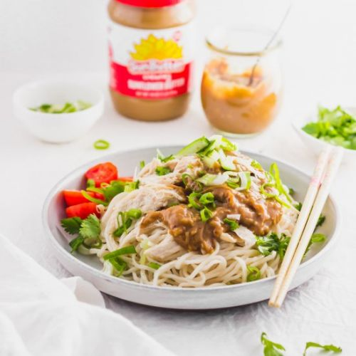 SunButter Noodles with Chicken