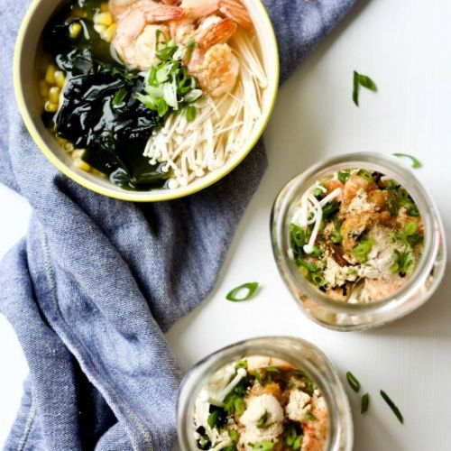 Seafood Bone Broth Instant Noodle