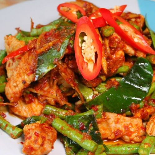 Pad Prik King - Thai Dry Curry