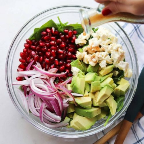 Pomegranate & Avocado Salad