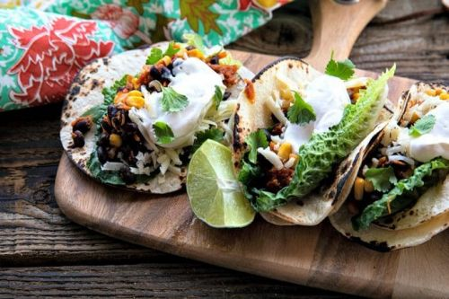 Black Bean Tacos | 10 Minute Meal