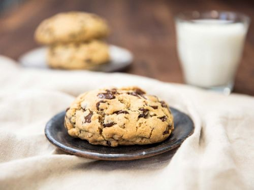 Super-Thick Chocolate Chip Cookies