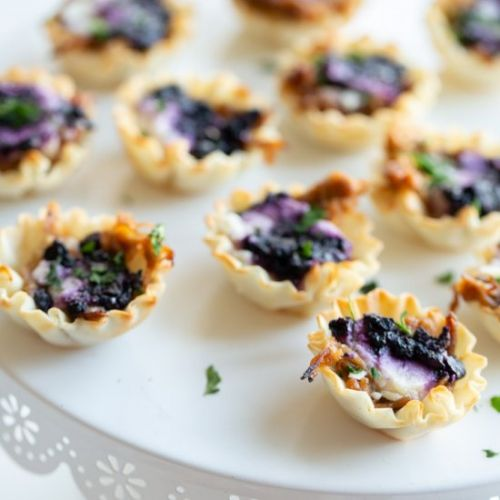 Blueberry Goat Cheese Appetizers