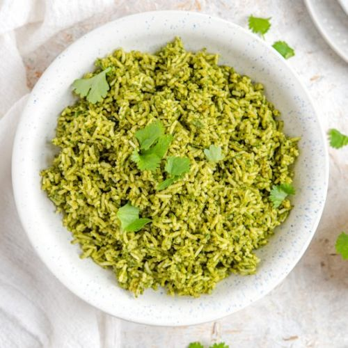 Mexican Green Rice - Arroz Verde