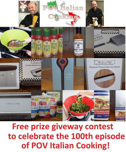 Free prize giveaway contest from POV Italian Cooking!