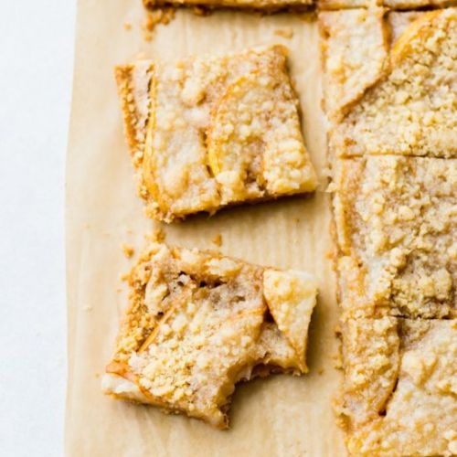 Insanely Good Pear Crumble Bars