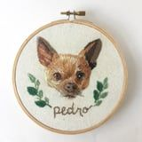 This Woman Expertly Embroiders Pet Portraits, and We've Never Seen ANYTHING Like It