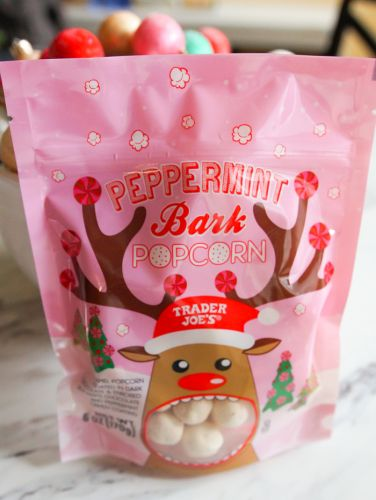 12 Days of Trader Joe's Christmas: Day 3, Peppermint Bark Popcorn