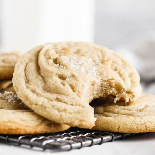 Soft & Chewy Sugar Cookies