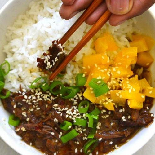 Korean Inspired Beef Bowl