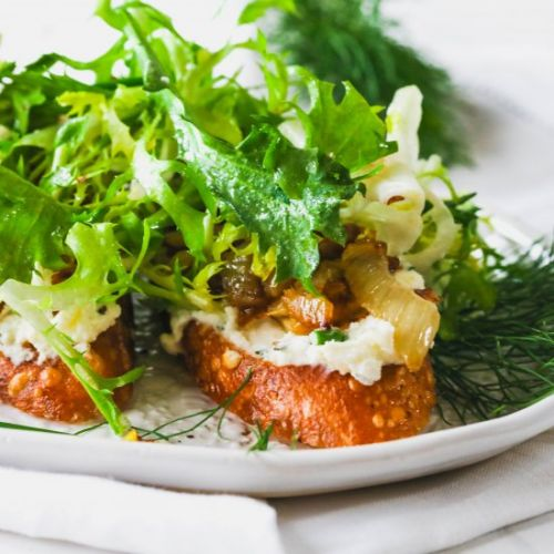 Fennel & Lemon Bruschetta