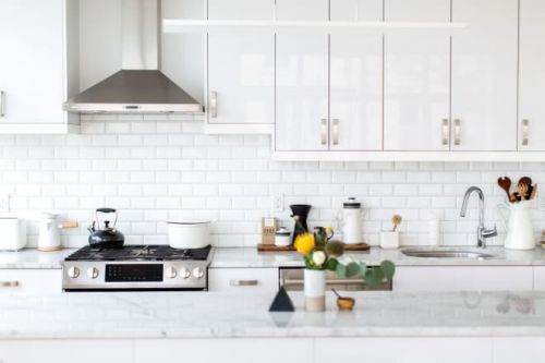 How To Clean a Greasy Tiled Backsplash and Grout