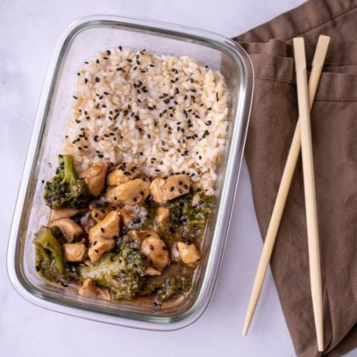Chicken & Broccoli w/Oyster Sauce