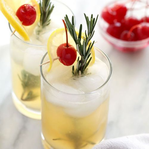 Rosemary Vodka Collins