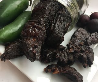 Organic Black Cherry and Jalapeño Beef Jerky