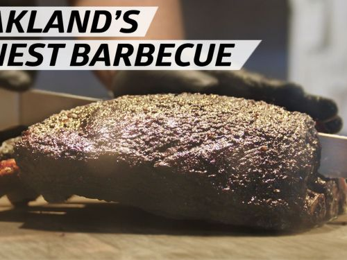 How Pitmaster Matt Horn Developed His Signature 'West Coast-Style' Barbecue in Oakland