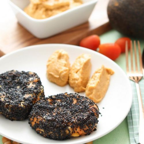 Chickpea Sweet Potato Patty