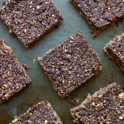 Homemade Whatchamacallit Bars