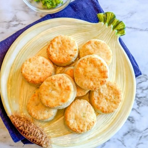 Gruyere and Scallion Biscuits