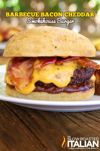 Barbecue Bacon Smokehouse Burger