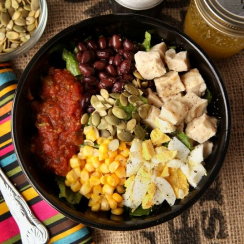 Easy High Protein Mexican Salad