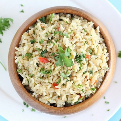 Herb and Vegetable Rice