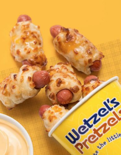 Wetzel's Pretzels Satisfies Guest Demand by Adding Cheesy Dog Bites to Permanent Menu