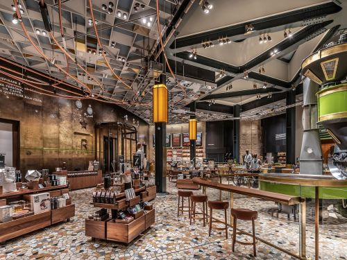 Starbucks Debuts in Italy With Fancy Milan Roastery