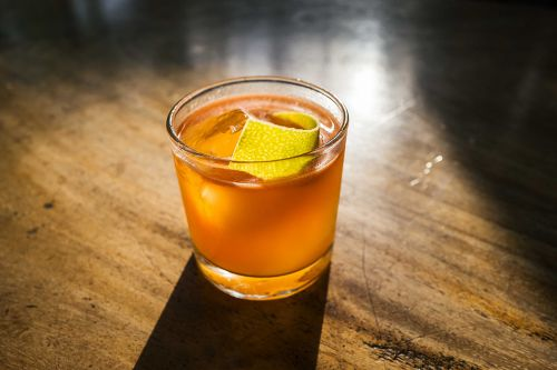 Naked in the Desert: A Sotol Cocktail