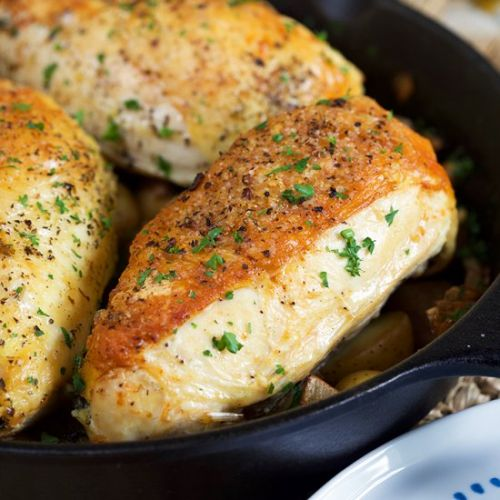 Cast Iron Skillet Chicken Breast