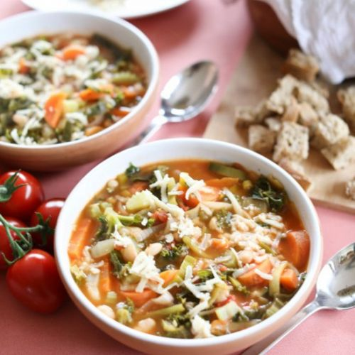 Ribollita with White Beans and Kale